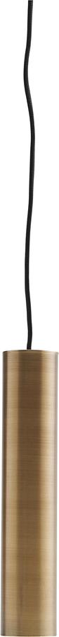 På billedet ser du variationen Hængelampe, Pin, Messing fra brandet House Doctor i en størrelse D: 5 cm. H: 25 cm. i farven Messing