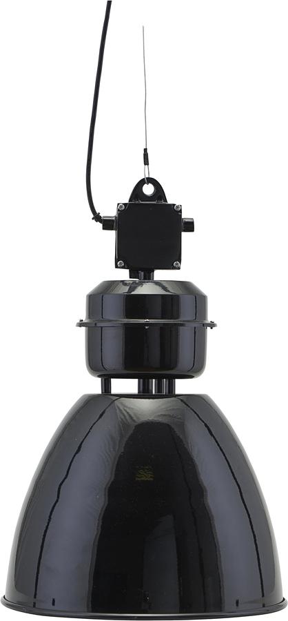 På billedet ser du variationen Hængelampe, Volumen fra brandet House Doctor i en størrelse D: 35 cm. i farven Sort