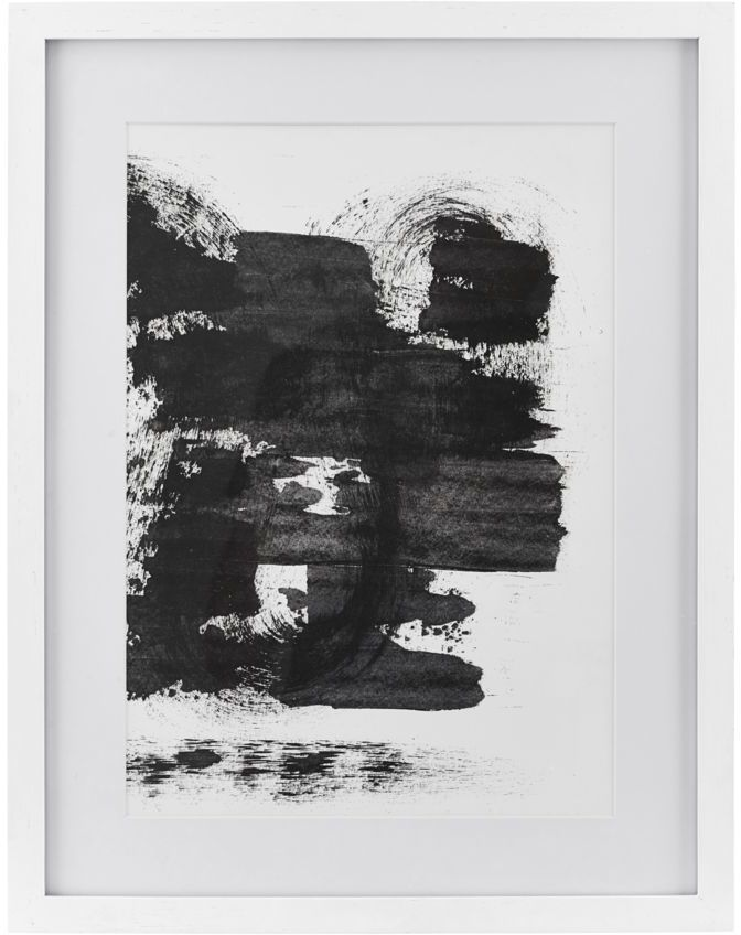 På billedet ser du variationen Illustration, Sponge, eg fra brandet House Doctor i en størrelse 55,5 x 43 cm. i farven Hvid