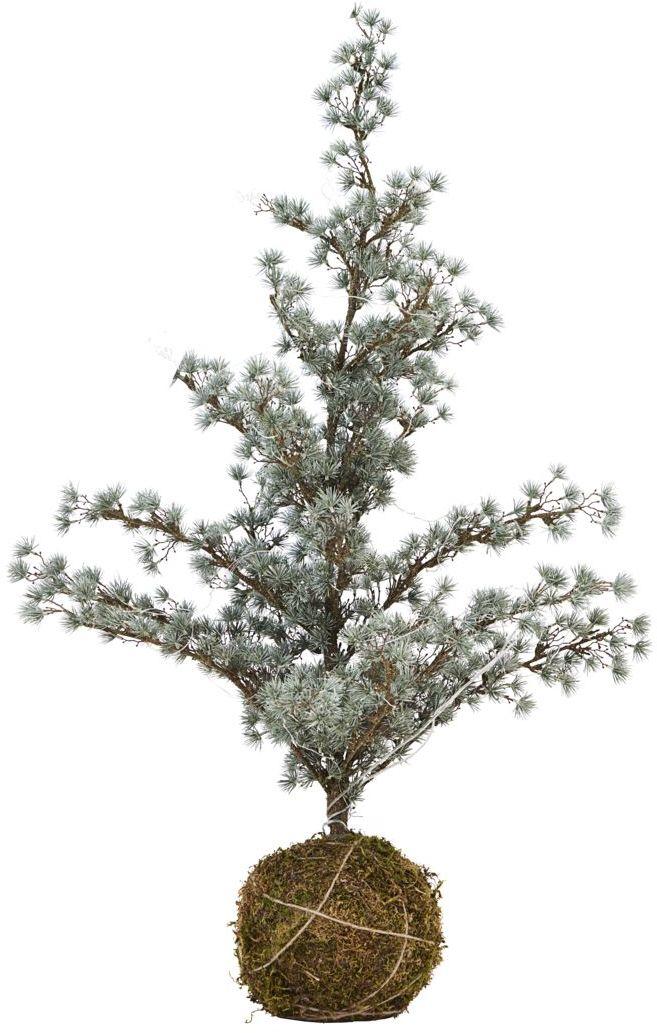 På billedet ser du variationen Juletræ, Stort træ med lyskæde fra brandet House Doctor i en størrelse 60 x 60 cm. x H: 125 cm. i farven Sølv