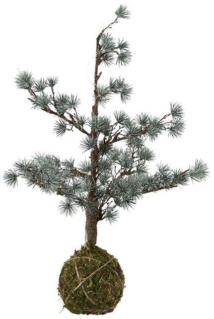 På billedet ser du variationen Juletræ med lys fra brandet House Doctor i en størrelse H: 50 cm. i farven Grå
