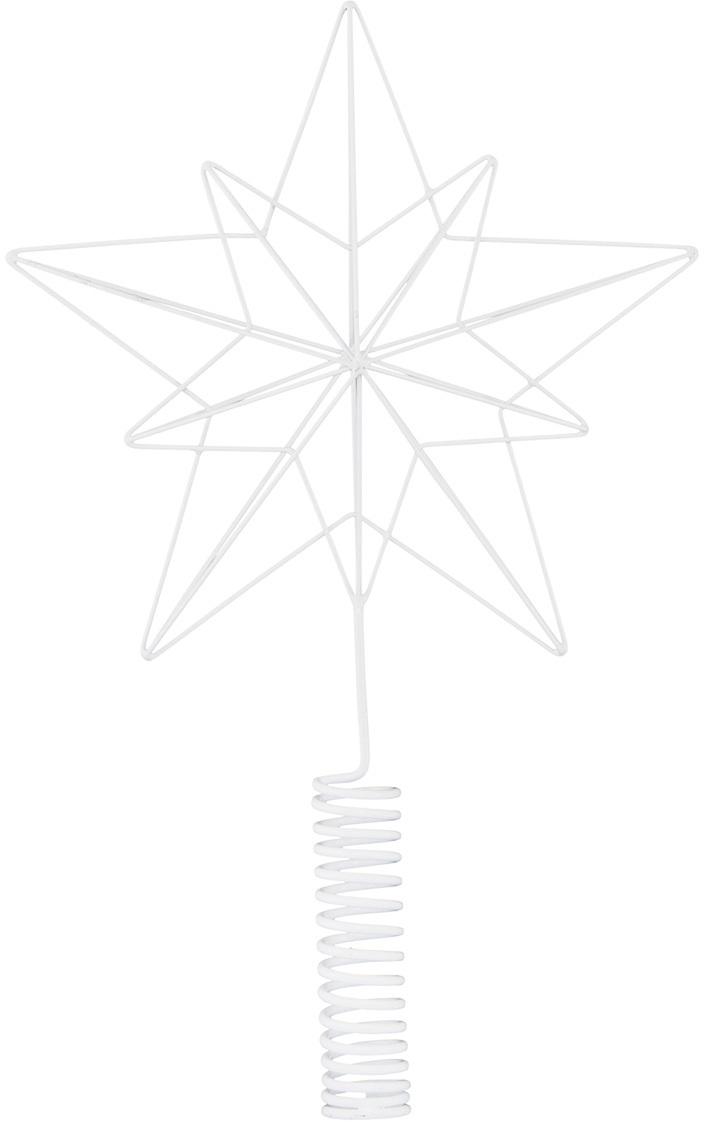 På billedet ser du variationen Juletræsstjerne, Wire fra brandet House Doctor i en størrelse H: 22/36 cm. i farven Hvid