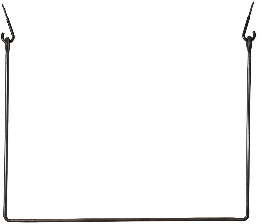 På billedet ser du variationen Knagerække fra brandet House Doctor i en størrelse 75 x 100 cm. i farven Sort