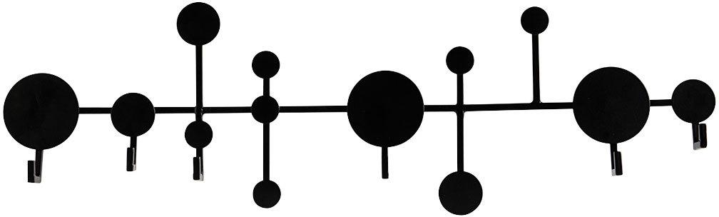 På billedet ser du variationen Circle, Knagerække fra brandet House Doctor i en størrelse L: 65 cm. x H: 20 cm. i farven Sort