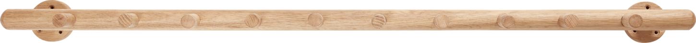 På billedet ser du variationen Knagerække, m/10 knager, Conor fra brandet Hübsch i en størrelse B: 113 cm. L: 12 cm. i farven Natur