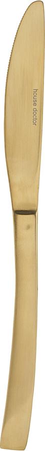 På billedet ser du variationen Kniv, Golden fra brandet House Doctor i en størrelse L: 22,2 cm. i farven Guld