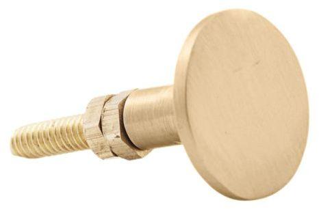 På billedet ser du variationen Knop, Brass fra brandet House Doctor i en størrelse D: 3 cm. H: 3 cm. i farven Messing