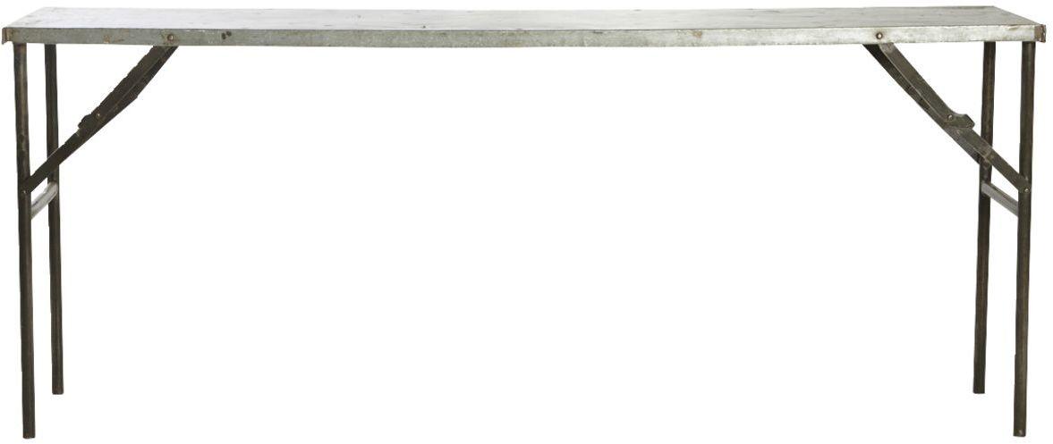 På billedet ser du variationen Konsol, Market fra brandet House Doctor i en størrelse 183 x 46 cm. x H: 75 cm. i farven Metal