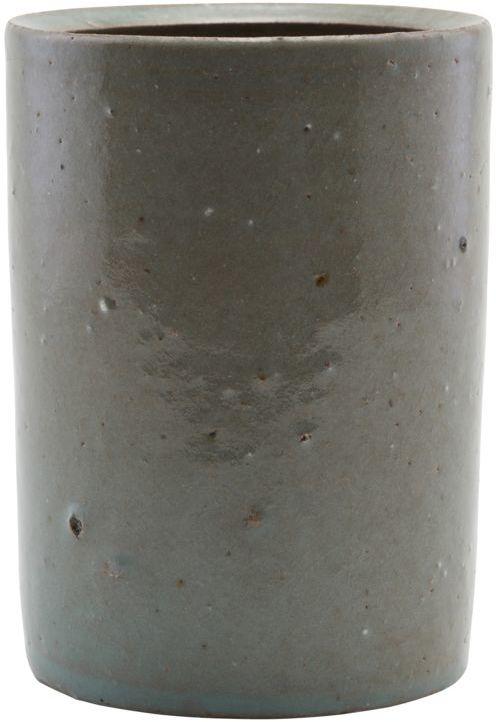 På billedet ser du variationen Krukke, Clay fra brandet House Doctor i en størrelse D: 8,5 cm. H: 10 cm. i farven Brun