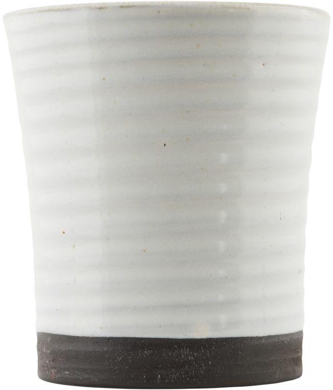 På billedet ser du variationen Color, Krus fra brandet House Doctor i en størrelse D: 8 cm. x H: 9 cm. i farven Hvid