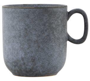 På billedet ser du variationen Grey Stone, Krus fra brandet House Doctor i en størrelse D: 9 cm. x H: 9,5 cm. i farven Grå