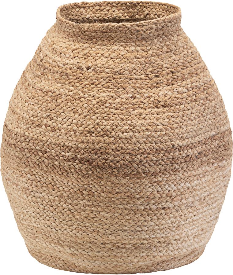 På billedet ser du variationen Kurv, Zimba fra brandet House Doctor i en størrelse D: 45 cm. H: 60 cm. i farven Natur