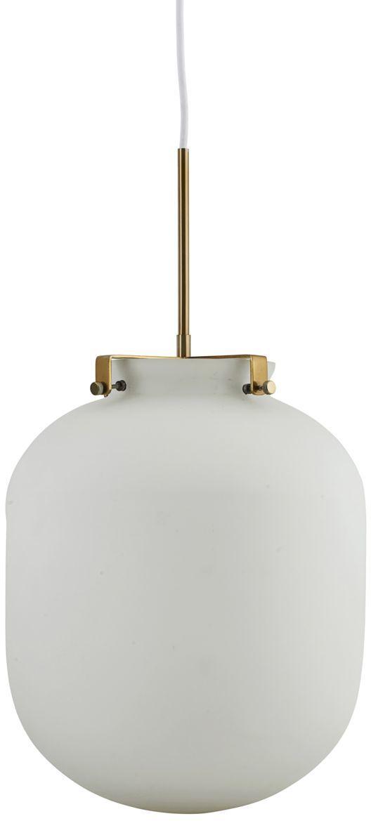 På billedet ser du variationen Ball, Lampe fra brandet House Doctor i en størrelse D: 30 cm. x H: 35 cm. i farven Hvid