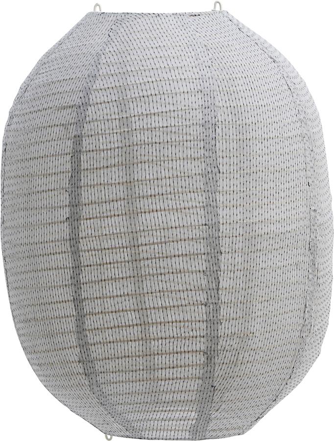 På billedet ser du variationen Lampeskærm, Stitch fra brandet House Doctor i en størrelse H: 50 cm. B: 40 cm. i farven Lysegrå