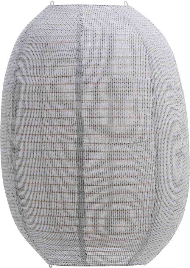 På billedet ser du variationen Lampeskærm, Stitch fra brandet House Doctor i en størrelse H: 60 cm. B: 50 cm. i farven Lysegrå