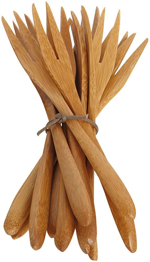 På billedet ser du variationen Bamboo, Lang gaffel fra brandet House Doctor i en størrelse L: 14 cm. i farven Natur
