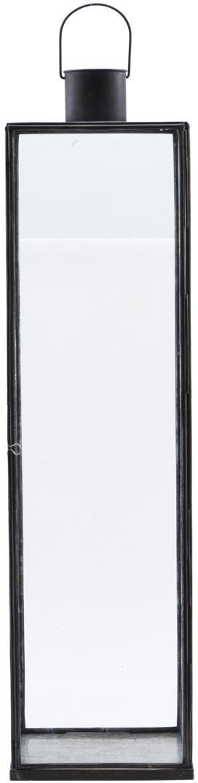 På billedet ser du variationen Lanterne, Narrow fra brandet House Doctor i en størrelse H: 79 cm. B: 20 cm. L: 20 cm. i farven Sort