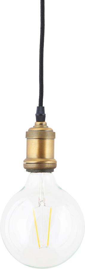 På billedet ser du variationen LED pære, Clear Decoration fra brandet House Doctor i en størrelse D: 12,5 cm. L: 17,5 cm. i farven Messing