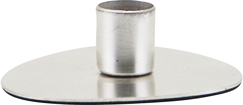På billedet ser du variationen Lysestage, Circle, Zink finish fra brandet House Doctor i en størrelse D: 5,5 cm. i farven Zink
