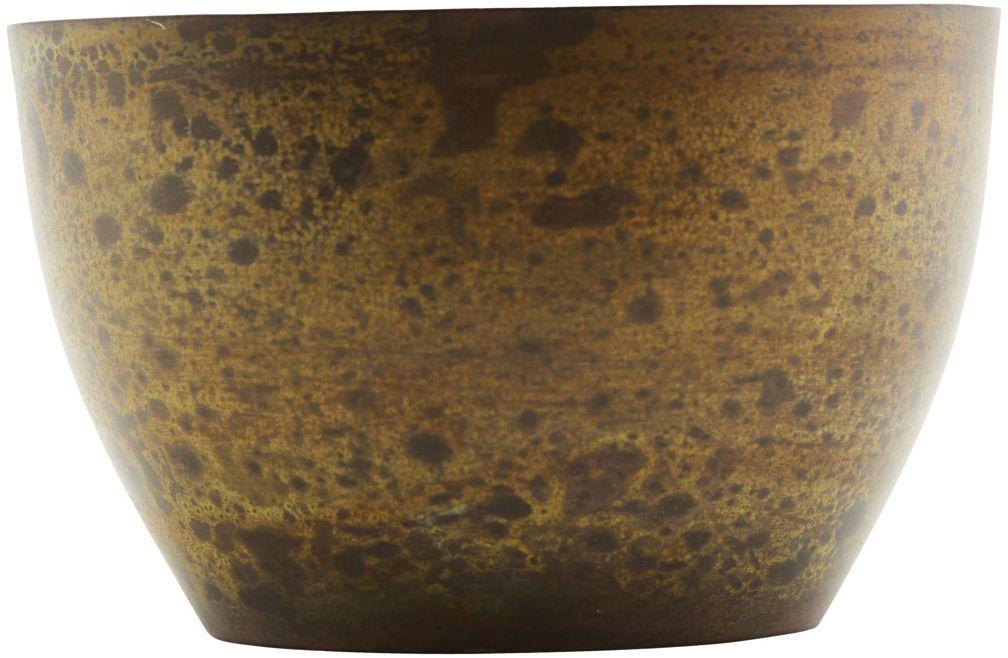 På billedet ser du variationen Etnik, Lysestage fra brandet House Doctor i en størrelse D: 10 cm. H: 6.3 cm. i farven Brun