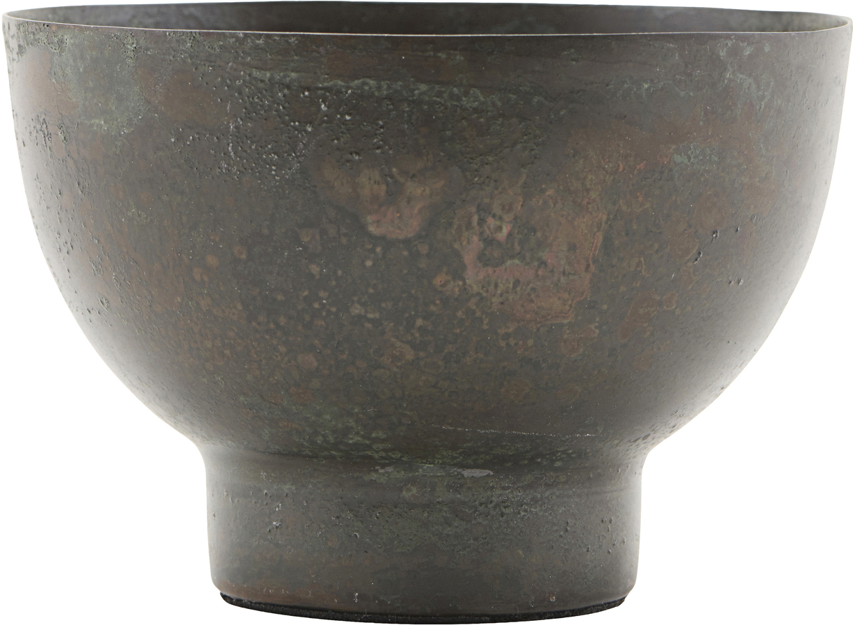 På billedet ser du variationen Lysestage, Kesi fra brandet House Doctor i en størrelse D: 10 cm. H: 7 cm. i farven Grøn