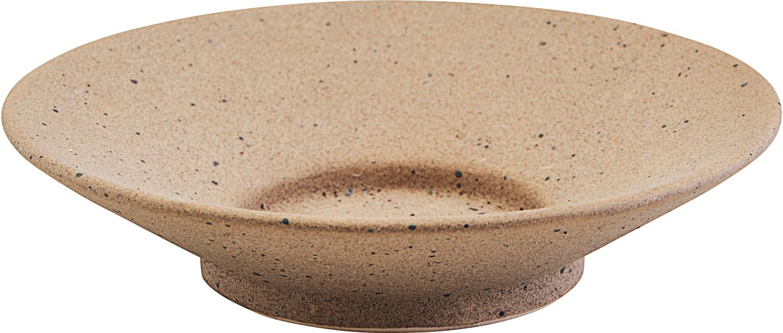 På billedet ser du variationen Lysestage, Miro fra brandet House Doctor i en størrelse D: 17 cm. H: 3,5 cm. i farven Lysegrå/Sand