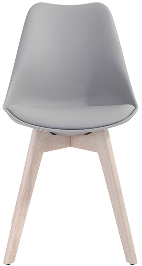 På billedet ser du variationen Spisebordsstol, Mia fra brandet Preform i en størrelse H: 84 cm. B: 47 cm. L: 49 cm. i farven Lys Natur/Grå