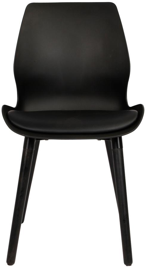 På billedet ser du variationen Spisebordsstol, Nemo fra brandet Preform i en størrelse H: 86,5 cm. B: 48 cm. L: 55 cm. i farven Sort