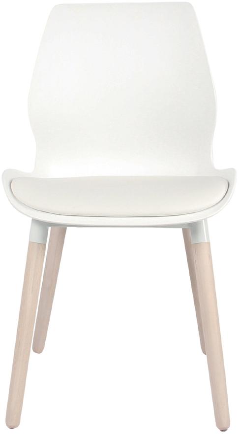 På billedet ser du variationen Spisebordsstol, Nemo fra brandet Preform i en størrelse H: 86,5 cm. B: 48 cm. L: 55 cm. i farven Natur/Hvid