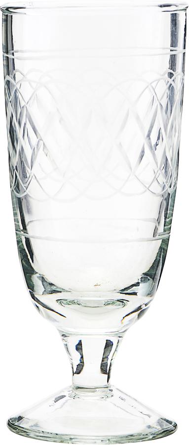 På billedet ser du variationen Ølglas, Vintage fra brandet House Doctor i en størrelse D: 6,5 cm. H: 15 cm. i farven Glas