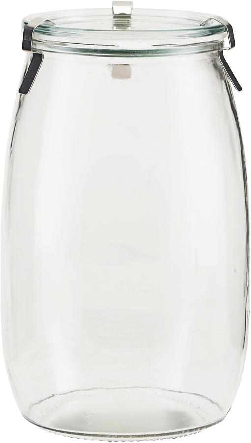 På billedet ser du variationen Opbevaringsglas, Use fra brandet House Doctor i en størrelse D: 11 cm. H: 19,5 cm. i farven Glas