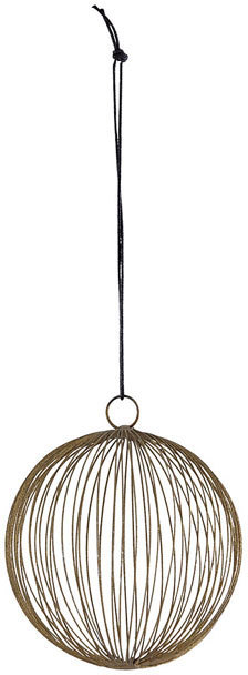 På billedet ser du variationen Ornament, Circles fra brandet House Doctor i en størrelse D: 15 cm. i farven Brun