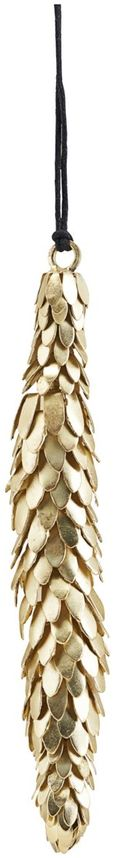 På billedet ser du variationen Ornament, Corne fra brandet House Doctor i en størrelse L: 14 cm. i farven Messing