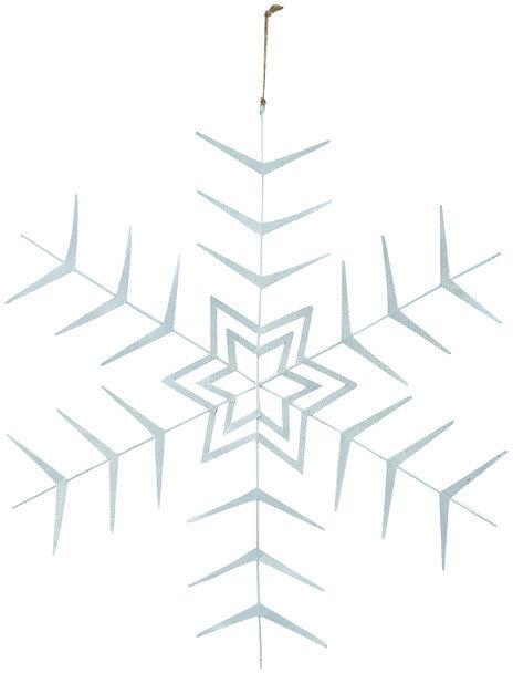På billedet ser du variationen Ornament, Crystal fra brandet House Doctor i en størrelse D: 10 cm. i farven Sølv