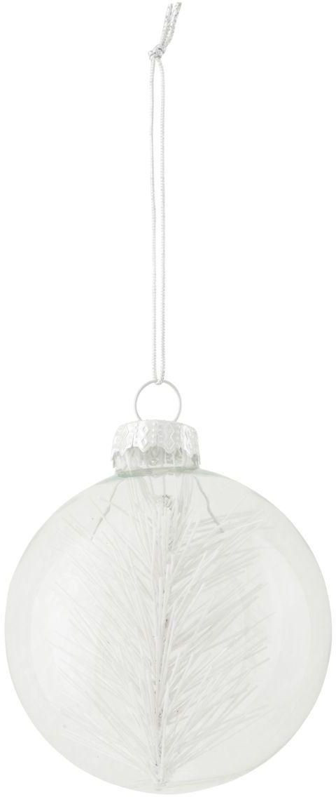 På billedet ser du variationen Ornament, Snow fra brandet House Doctor i en størrelse D: 7 cm. i farven Klar