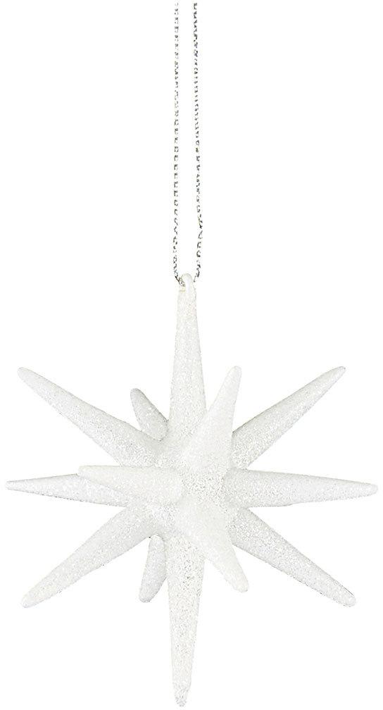 På billedet ser du variationen Ornament, Spike fra brandet House Doctor i en størrelse H: 7,5 cm. i farven Hvid