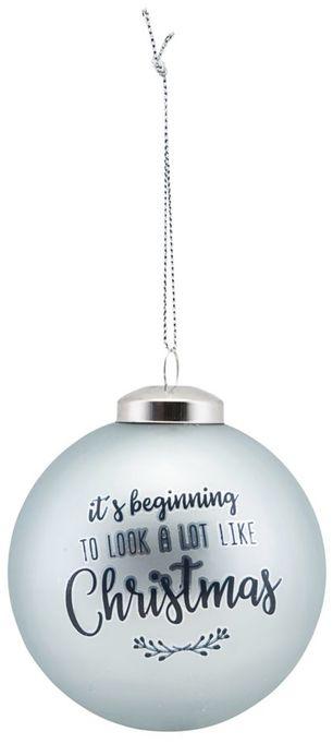På billedet ser du variationen Ornament, Its beginning.... fra brandet House Doctor i en størrelse D: 8 cm. i farven Blå