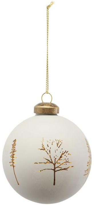 På billedet ser du variationen Ornament, Woods fra brandet House Doctor i en størrelse D: 8 cm. i farven Grå