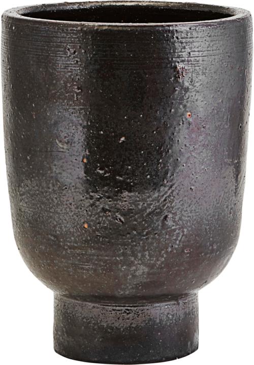 På billedet ser du variationen Potte, Artist fra brandet House Doctor i en størrelse D: 15 cm. H: 22 cm. i farven Sort