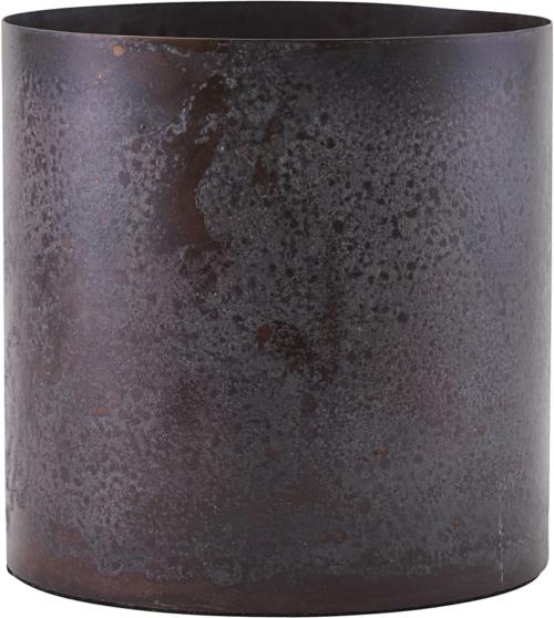 På billedet ser du variationen Potte, Luba fra brandet House Doctor i en størrelse D: 14 cm. H: 14 cm. i farven Bordeaux