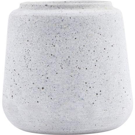 På billedet ser du variationen Shape, Potte fra brandet House Doctor i en størrelse D: 14 cm. x H: 14 cm. i farven Beton