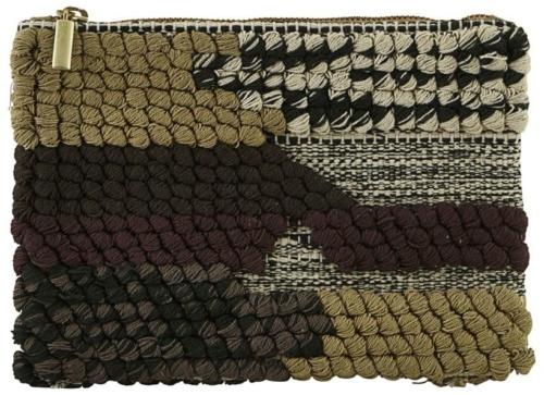På billedet ser du variationen Pung, Combo 1 fra brandet House Doctor i en størrelse B: 23 cm. L: 16 cm. i farven Grøn/Brun
