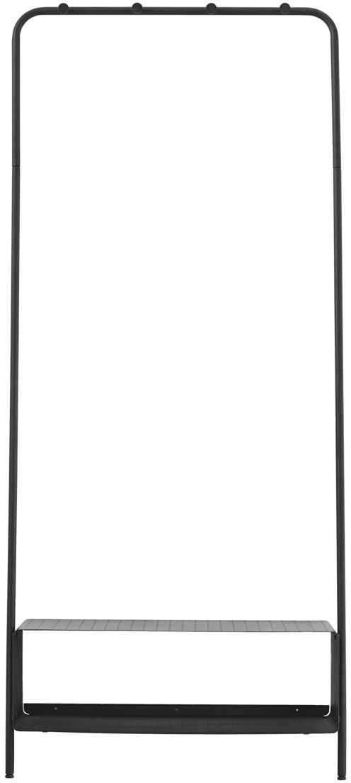 På billedet ser du variationen Ways, Rack fra brandet House Doctor i en størrelse Shelf: 74 x 32 H: 22 cm. Rack: 74 x 170 cm. i farven Sort