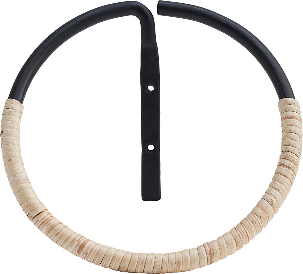 På billedet ser du variationen Ring, Orbit fra brandet House Doctor i en størrelse D: 20 cm. i farven Natur/Sort