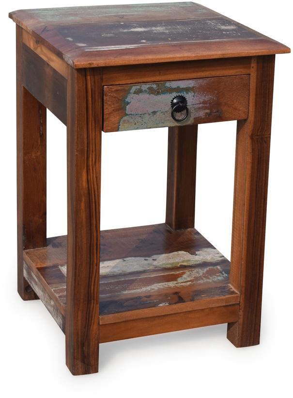 På billedet ser du variationen Sengebord, Sophie fra brandet OBUZI i en størrelse H: 62 cm. B: 42 cm. L: 42 cm. i farven Multi