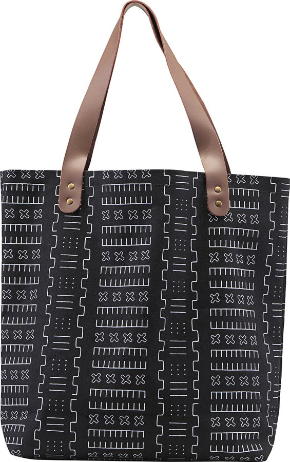 På billedet ser du variationen Shopper, taske, Inka fra brandet House Doctor i en størrelse H: 45 cm. B: 10 cm. L: 40 cm. i farven Sort