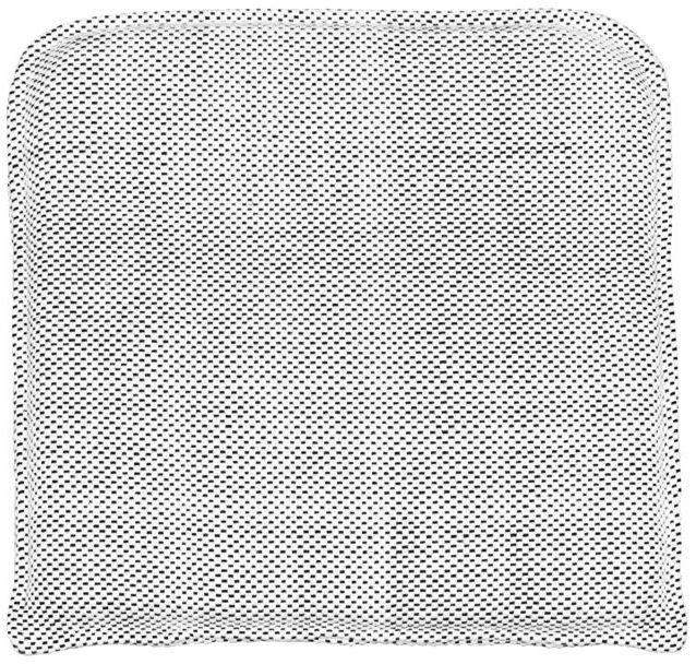 På billedet ser du variationen Coon, Sidde pude fra brandet House Doctor i en størrelse 48 x 48 cm. i farven Sort/Hvid