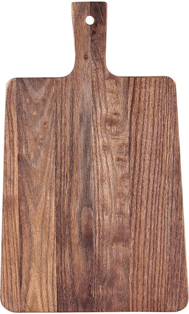 På billedet ser du variationen Walnut, Skærebræt fra brandet House Doctor i en størrelse 26 x 42 x 1,5 cm. i farven Natur