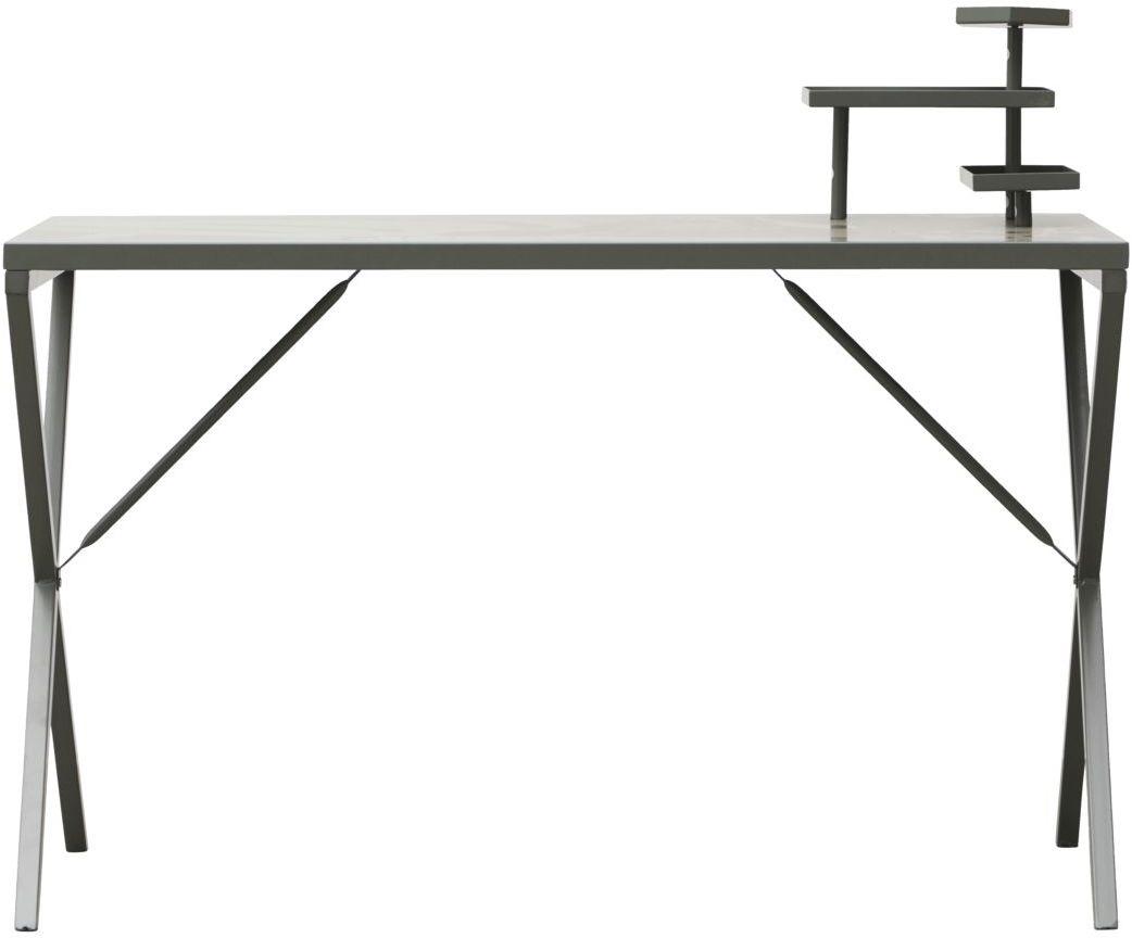 På billedet ser du variationen Skrivebord, Tray fra brandet House Doctor i en størrelse 120 x 60 cm. x H: 74 cm. i farven Armygrøn