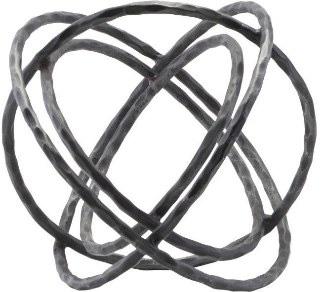 På billedet ser du variationen Skulptur, Ball fra brandet House Doctor i en størrelse D: 35 cm. H: 27 cm. i farven Sort